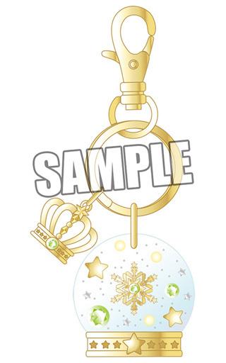 【中古】キーホルダー・マスコット(キャラクター) 愛島セシル スノードーム風キーホルダー 「うたの☆プリンスさまっ♪」