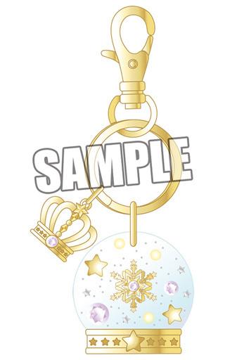【中古】キーホルダー・マスコット(キャラクター) 美風藍 スノードーム風キーホルダー 「うたの☆プリンスさまっ♪」