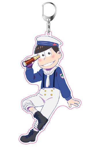 "Osomatsu Marine Sailor pine acrylic key holder ""Osomatsu-san"""