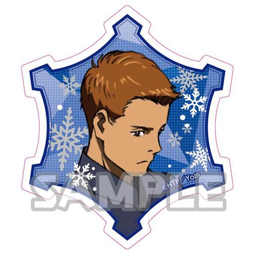 ミケーレ・クリスピーノ 「ユーリ!!! on ICE トレーディングマグネット」