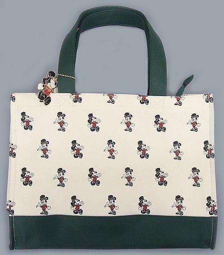 【中古】バッグ(キャラクター) ミッキーマウス&ミニーマウス トートバッグ&ラゲッジラグ 「ディズニー」 東京ディズニーシー・ホテルミラコスタ限定