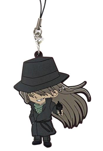 【中古】ストラップ(キャラクター) ジン 「名探偵コナン ラバーストラップコレクション」