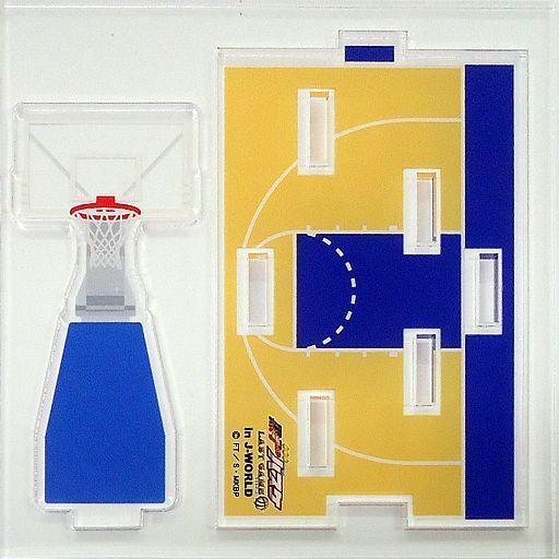 【中古】小物(キャラクター) バスケットボールコート つながるアクリルジオラマ 「劇場版 黒子のバスケ LAST GAME in J-WORLD TOKYO」