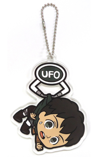 【中古】キーホルダー・マスコット(キャラクター) ベルトルト・フーバー UFOつままれアクリルキーチェーンマスコット 「進撃の巨人」