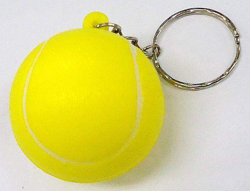 【新品】スクイーズ(その他/キーホルダー) テニス むにむにボールキーホルダー