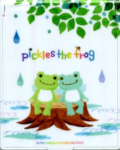 【中古】生活雑貨(キャラクター) しずく(妖精) コンパクトミラー 「pickles the frog-かえるのピクルス-」