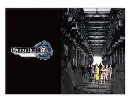 【新品】家電サプライ他(キャラクター) A.キービジュアル(人混み) タブレットPCケース Lサイズ 「Occultic;Nine -オカルティック・ナイン-」