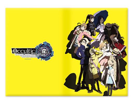 【新品】家電サプライ他(キャラクター) B.キービジュアル(イエロー) タブレットPCケース Lサイズ 「Occultic;Nine -オカルティック・ナイン-」