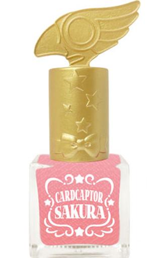【中古】生活雑貨(キャラクター) ピンク(ラメ入り) マニキュア 封印の鍵キャップ 「カードキャプターさくら」