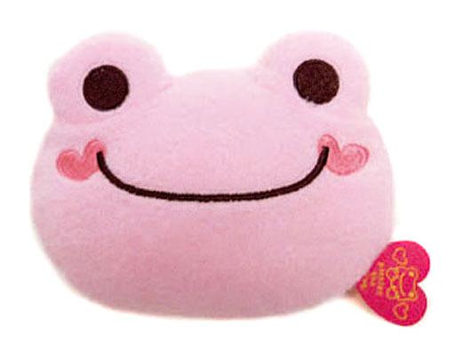 【新品】財布・パスケース(キャラクター) ピクルス LOVEシリーズ コインポーチ 「pickles the frog-かえるのピクルス-」