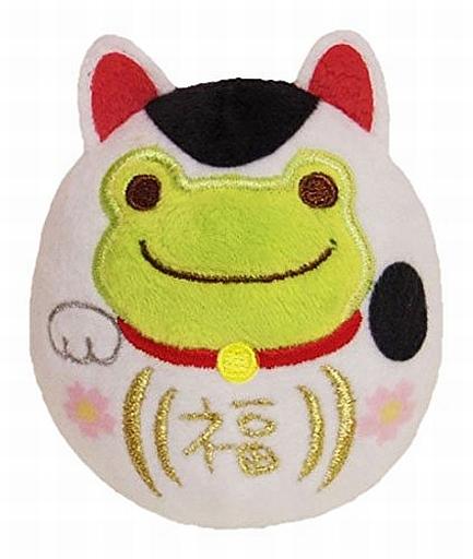 【新品】小物(キャラクター) 招き猫 だるまお手玉 「pickles the frog-かえるのピクルス-」
