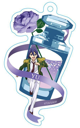 【中古】キーホルダー・マスコット(キャラクター) 涼野ユウ 香水瓶型アクリルキーチェーン 「KING OF PRISM -PRIDE the HERO-」