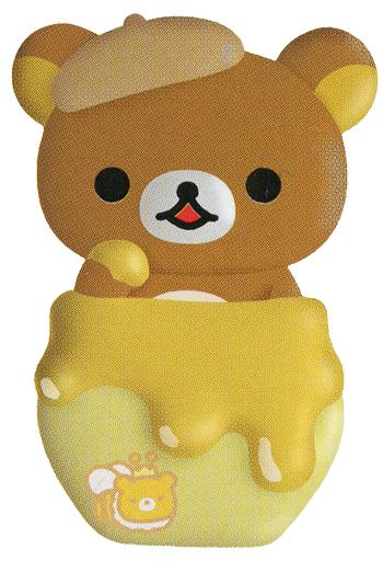 【新品】小物(キャラクター) リラックマとはちみつ はちみつの森の収穫祭テーマ コレクションクリップ 「リラックマ」