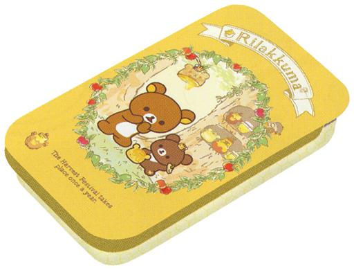 【中古】小物(キャラクター) リラックマ&チャイロイコグマ(イエロー) はちみつの森の収穫祭テーマ ミニ缶 「リラックマ」