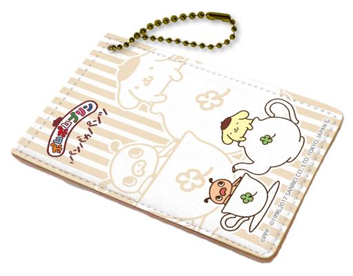 【中古】財布・パスケース(キャラクター) ティータイム キャラパス 「パンパカパンツ×ポムポムプリン」