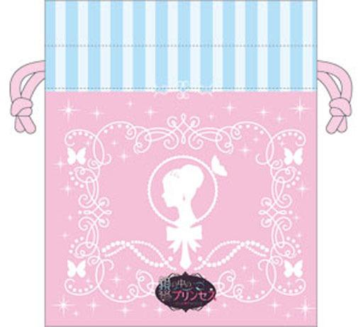 【新品】バッグ(キャラクター) タイトルロゴ 巾着 「鏡の中のプリンセス Love Palace」