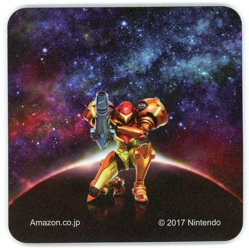 【中古】マウスパッド(キャラクター) サムス・アラン オリジナルマウスパッド 「3DSソフト メトロイド サムスリターンズ」 アマゾン購入特典