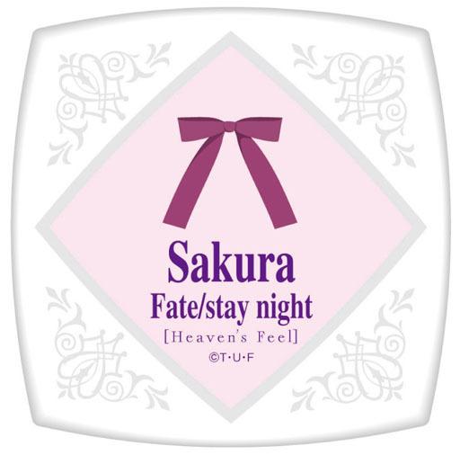 【新品】生活雑貨(キャラクター) 間桐桜 スクエアコンパクトミラー 「劇場版 Fate/stay night[Heaven's Feel]」