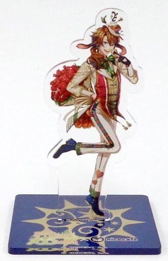 マーチア アクリルスタンド 「夢王国と眠れる100人の王子様×nicocafe」 スペシャルドリンクセット特典