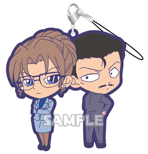 毛利小五郎&妃英理 「名探偵コナン ラバーストラップDUO vol.3」