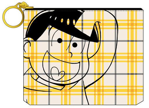 【新品】バッグ(キャラクター) 十四松 ティッシュポーチ 「おそ松さん」