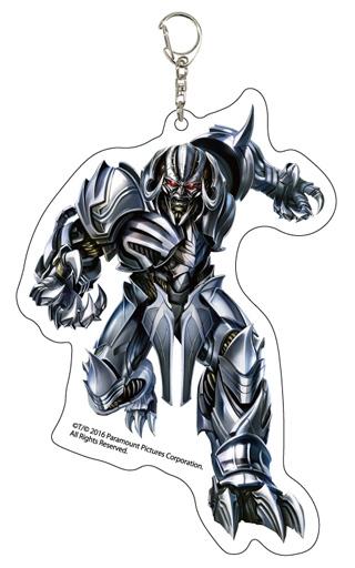 【中古】キーホルダー・マスコット(キャラクター) メガトロン デカアクリルキーホルダー 「トランスフォーマー 最後の騎士王」