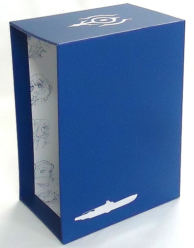 【中古】生活雑貨(キャラクター) BLUE STEEL 全巻収納BOX 「Blu-ray 蒼き鋼のアルペジオ -アルス・ノヴァ-」 アマゾン全巻購入特典