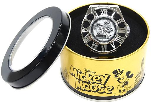 【中古】腕時計・懐中時計(キャラクター) シルバー ミッキーマウス BEYOND IMAGINATION プレミアムリストウォッチ 「ディズニー」