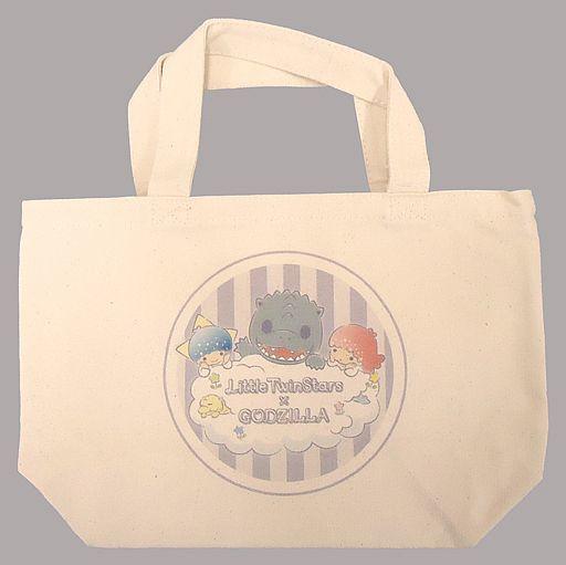 【中古】バッグ(キャラクター) ゴジラ&キキ&ララ ランチトート 「リトルツインスターズ×ゴジラ」