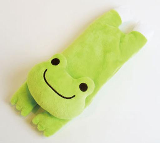 【予約】生活雑貨(キャラクター) ピクルス アイピロー トラベルグッズシリーズ 「pickles the frog-かえるのピクルス-」