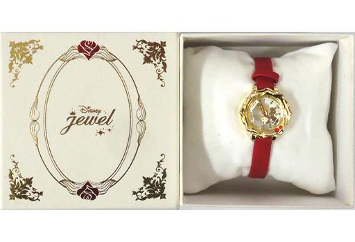 【中古】腕時計・懐中時計(キャラクター) ベル&ビースト(シルエット) 腕時計 「美女と野獣」 ディズニーストア限定
