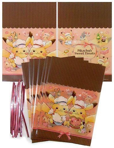 【中古】小物(キャラクター) ピカチュウ ミニギフト袋 Pikachu's Sweet Treats 「ポケットモンスター」 ポケモンセンター限定