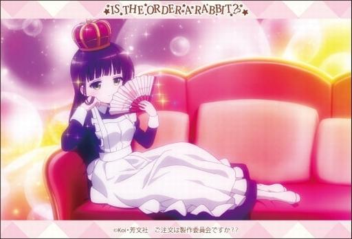 【新品】小物(キャラクター) B.千夜(王冠) スクエアマグネット 「ご注文はうさぎですか??」