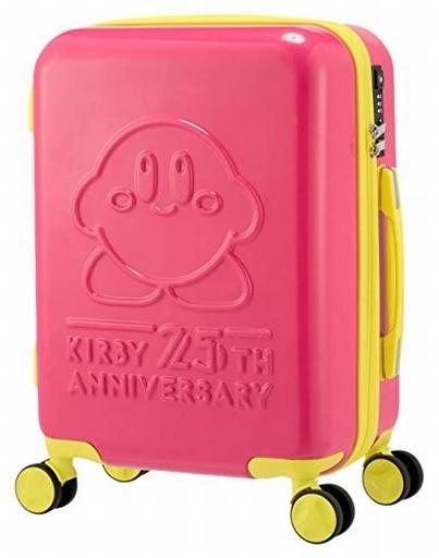 【新品】生活雑貨(キャラクター) カービイ 25周年スーツケース 「星のカービィ」