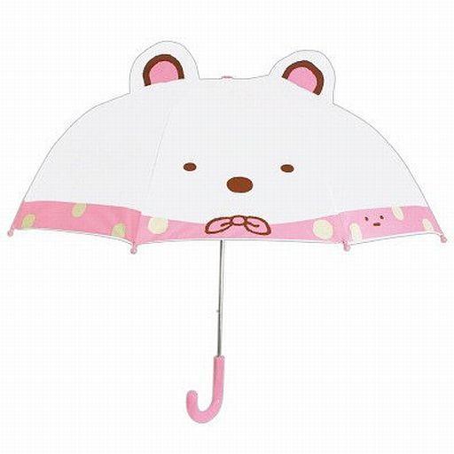 【中古】生活雑貨(キャラクター) しろくま キャラクター耳付き傘 「すみっコぐらし」