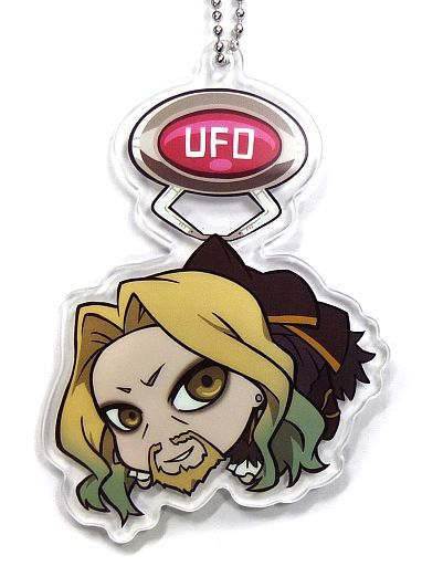 黒のランサー/ヴラド三世 UFOつままれアクリルキーチェーンマスコットVol.2 「Fate/Apocrypha」