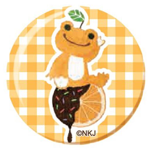 【予約】小物(キャラクター) オレンジ クリスタルマグネット 「pickles the frog-かえるのピクルス-」
