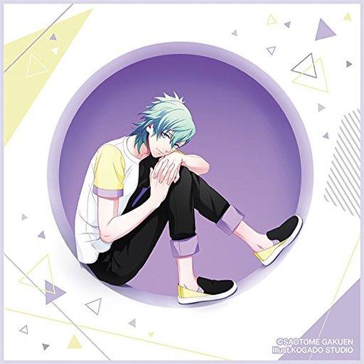美風藍 マイクロファイバーミニタオル モダンサークルVer. 「うたの☆プリンスさまっ♪」