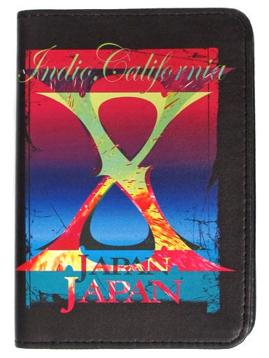【中古】財布・パスケース(男性) X JAPAN パスポートケース 「X JAPAN復活10周年記念 X JAPAN LIVE 2018 アメリカフェス出演直前 PREMIUM GIGS ?YOSHIKI復活の夜?」