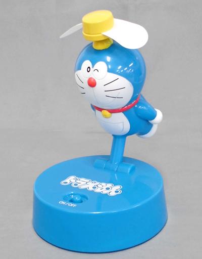 【中古】家電サプライ他(キャラクター) ドラえもん(ウインク) プレミアムタケコプター型扇風機Ver.2 「ドラえもん」