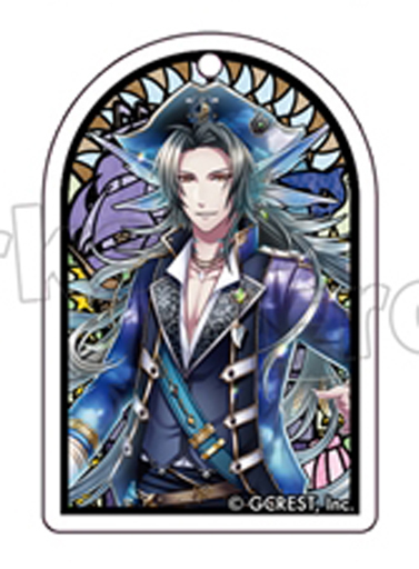 オリオン(「New Dream Ship」太陽覚醒) 「夢王国と眠れる100人の王子様 ステンドグラス風アクリルキーホルダー 第3弾」