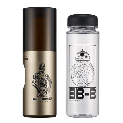 【中古】家電サプライ他(男性) C-3PO 携帯加湿器&BB-8リユースボトル 「スター・ウォーズ」