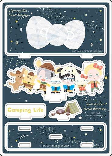 【予約】小物(キャラクター) 星空キャンプver. アクリルジオラマ 「ユーリ!!! on ICE×サンリオキャラクターズ」