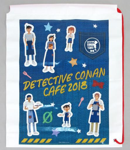 【中古】バッグ(キャラクター) 集合(コナンカフェ2018/ゼロの執行人) ショップ袋 「名探偵コナンカフェ2018」 物販購入特典