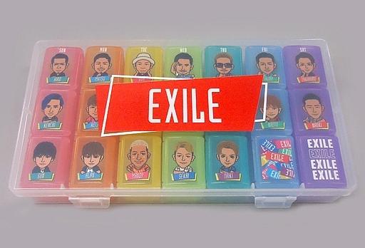 【中古】小物(男性) EXILE ピルケースセット 「居酒屋えぐざいる PARK 2018」