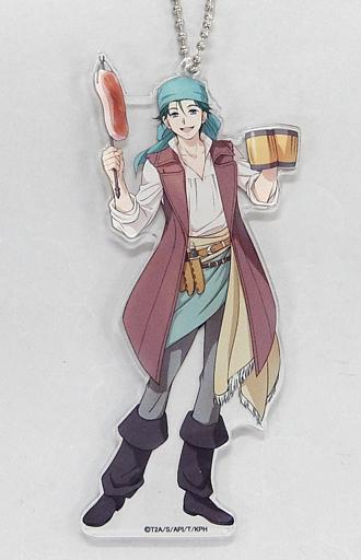 鷹梁ミナト 「KING OF PRISM -PRIDE the HERO-×COLLABO CAFE HONPO 等身アクリルキーホルダー」