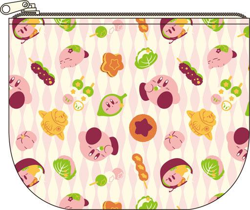 【新品】バッグ(キャラクター) カービィ ふわふ和コレクション ちりめん カービィともぐもぐ和菓子 ちりめんティッシュポーチ 「星のカービィ」