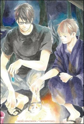 【予約】小物(キャラクター) 柏木&小鳥 スクエアマグネット 「月光坂の花屋敷」
