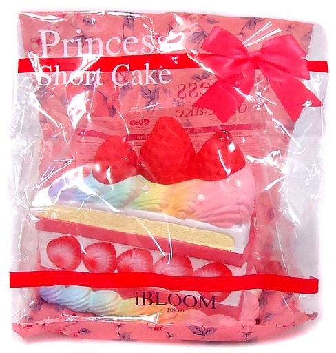 BLOOM(ブルーム) 新品 スクイーズ(食品系/雑貨・小物) プリンセス ショートケーキ レインボー スクイーズ マスコット