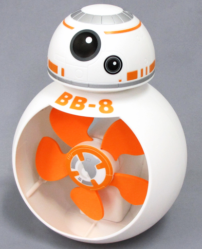【中古】家電サプライ他(男性) BB-8 プレミアムBB-8型USB扇風機 「スター・ウォーズ/フォースの覚醒」